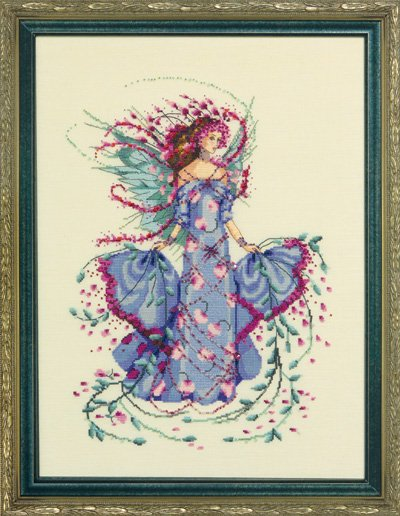 Mirabilia Designs - October Opal Fairy - Cross Stitch Pattern-Mirabilia Designs, October Opal Fairy, birthstones,  Cross Stitch Pattern