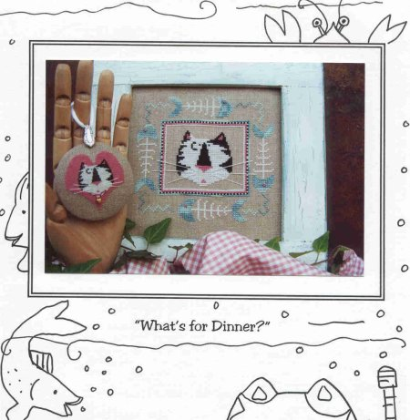 Mosey 'n Me - What's for Dinner? - Cross Stitch Chart-Mosey 'n Me, What's for Dinner?, Cross Stitch Chart