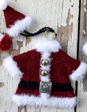 Myrtle Grace Motifs - The North Pole Couture Collection - Santa Claus (Punch)-Myrtle Grace Motifs - The North Pole Couture Collection - Santa Claus, Christmas,Punch Needle