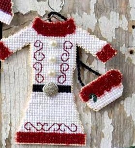 Myrtle Grace Motifs - The North Pole Couture Collection - Mrs. Claus-Myrtle Grace Motifs - The North Pole Couture Collection - Mrs. Claus, Christmas, Santa Claus, cross stitch