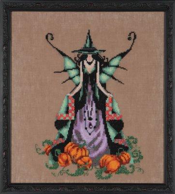 Nora Corbett - Bewitching Pixies - Luna-Nora Corbett, Bewitching Pixies, Luna, fairy, moon, Cross Stitch Chart