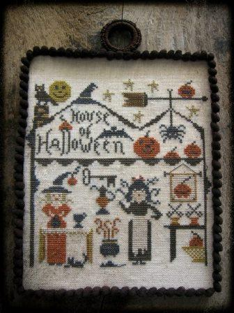 Nikyscreations - House of Halloween-Nikyscreations - House of Halloween, Halloween, scary, witch, ghost, cross stitch