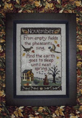 Waxing Moon Designs -  Monthly Sampler Series - November-Waxing Moon Designs Monthly Sampler Series: November