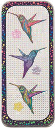 Just Nan - Needle Slide - Rainbow Hummers-Just Nan - Needle Slide - Rainbow Hummers, needles, magnet, storage, cross stitch