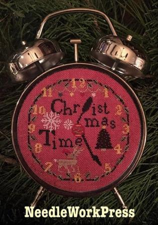 NeedleWorkPress - Christmas Time-NeedleWorkPress  - Christmas Time, Christmas decoration, Christmas tree, reindeer, cross stitch