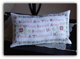 New York Dreamer - Blessed Are The Mothers - Cross Stitch Pattern-New York Dreamer - Blessed Are The Mothers - Cross Stitch Pattern