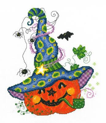 Imaginating - Peter Pumpkin-Imaginating - Peter Pumpkin, Fall, Thanksgiving, pumpkins, Cross Stitch Pattern