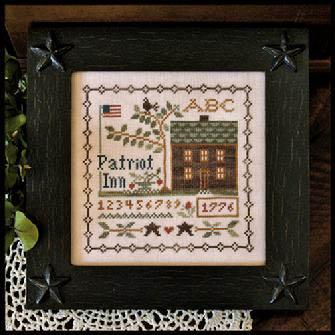 Little House Needleworks - Patriot Inn - Cross Stitch Pattern-Little House Needleworks - Patriot Inn - Cross Stitch Pattern