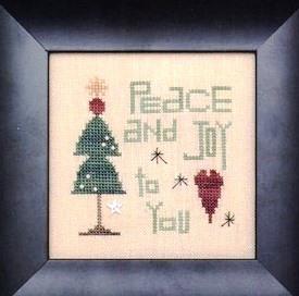 Heart in Hand Needleart - Peace and Joy Kit