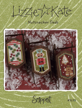 Lizzie Kate - Sleds - Nutcracker Sleds-Lizzie Kate - Sleds - Nutcracker Sleds, ornaments, Christmas tree ornaments,