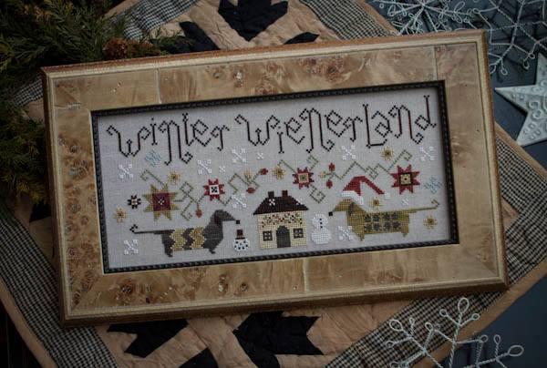 Plum Street Samplers - Winter Wienerland - Cross Stitch Pattern