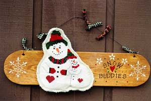 Poppy Kreations - Snowbuddies - Cross Stitch Pattern-Poppy Kreations - Snowbuddies - Cross Stitch Pattern