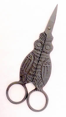 Kelmscott Designs - Primitive Owl Scissors-Kelmscott Designs - Primitive Owl Scissors