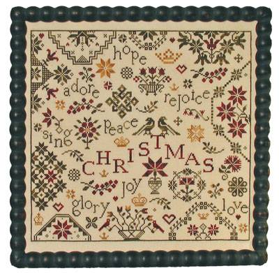 Praiseworthy Stitches - Simple Gifts-Christmas-Praiseworthy Stitches - Simple Gifts-Christmas - quaker, Christmas sampler, Cross Stitch Pattern