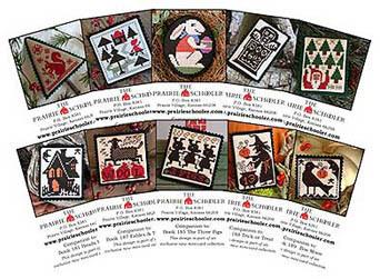 Prairie Schooler - Mini Card Collection E