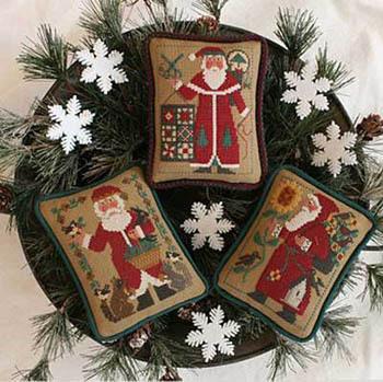 Prairie Schooler - Santas Revisited - 1990, 1994 & 2005 Schooler Santas