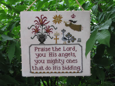 Plum Street Samplers - Angels' Praise - Cross Stitch Pattern