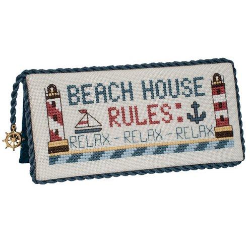 Stoney Creek - Beach House Rules - Cross Stitch Chart