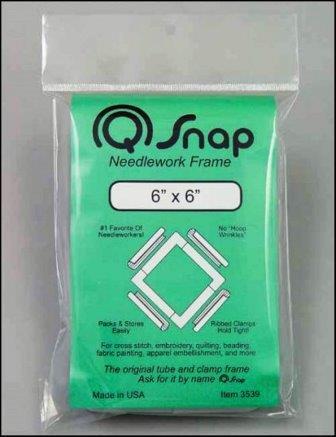 "Q-Snap - 6"" x 6"" Frame-Q-Snap, 6 x 6 Q-Snap Frame, cross stitch, needlework frames, plastic frames,"