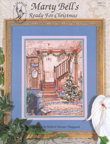 Marty Bell - Ready for Christmas - Cross Stitch Chart-Marty Bell - Ready for Christmas - Cross Stitch Chart