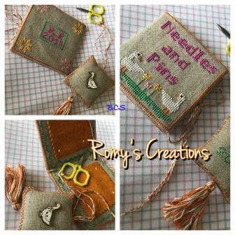 Romy's Creations - Little Gooses Mini Sewing Kit-Romys Creations - Little Gooses Mini Sewing Kit, needle keeper, sewing organizer, cross stitch