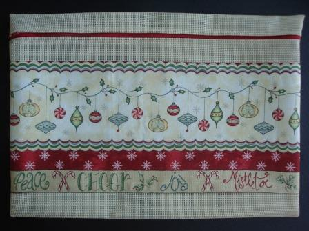 Stitch-A-Gift - Christmas Whimsey - Project Bag-Stitch-A-Gift - Christmas Whimsey - Project Bag, Christmas