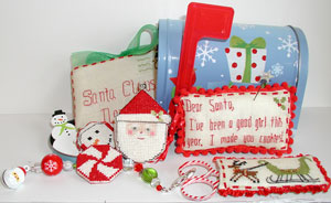 Praiseworthy Stitches - Letters to Santa - Limited Edition