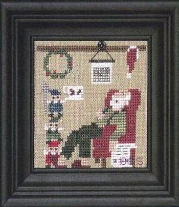 Bent Creek - The Christmas House - Part 2 of 3  Santa's Cocoa - Cross Stitch Pattern