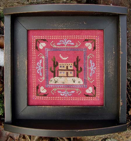 SamSarah Design Studio - A Day @ Home Series - 4 of 4 - Saturday Evening - Cross Stitch Kits-SamSarah Design Studio - A Day @ Home Series - 4 of 4 - Saturday Evening - Cross Stitch Kits