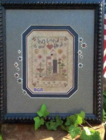 Shepherd's Bush - This Land-Shepherds Bush - This Land, USA patriotic, American, sheep, home, American flag