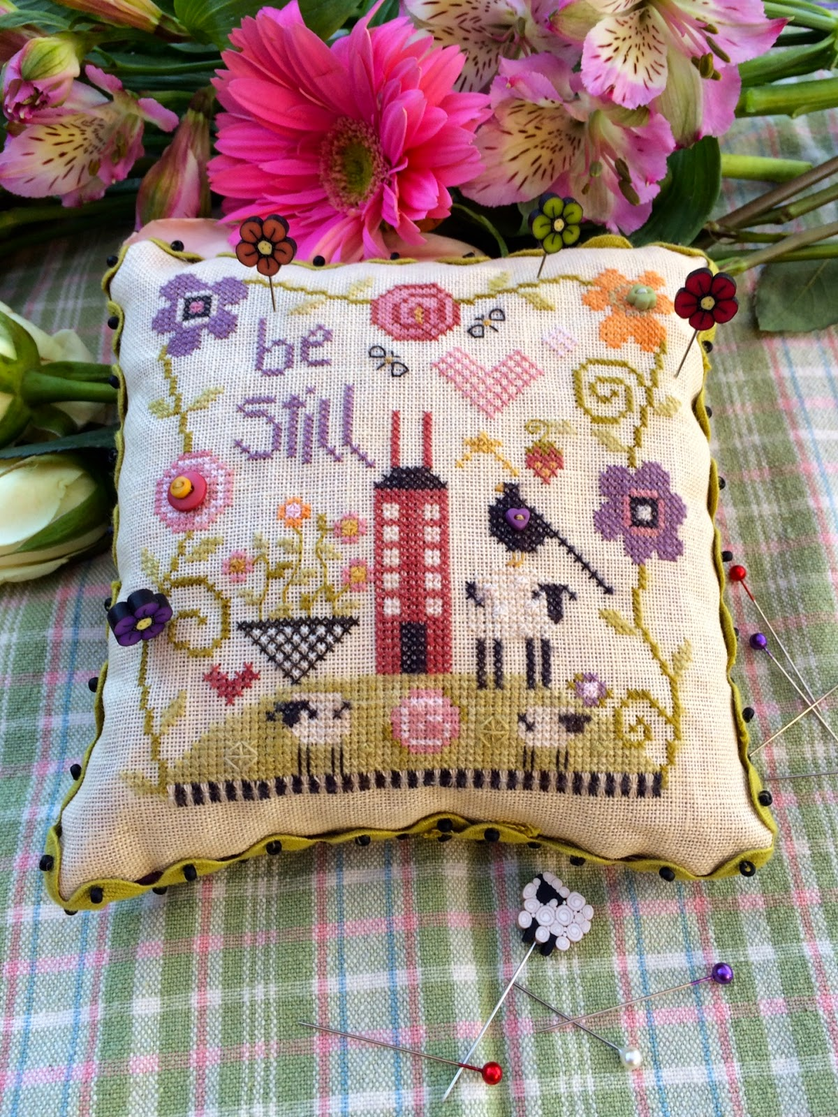 Shepherd's Bush - Be Still - Cross Stitch Kit-Shepherds Bush, Be Still, peaceful, home, Cross Stitch Kit