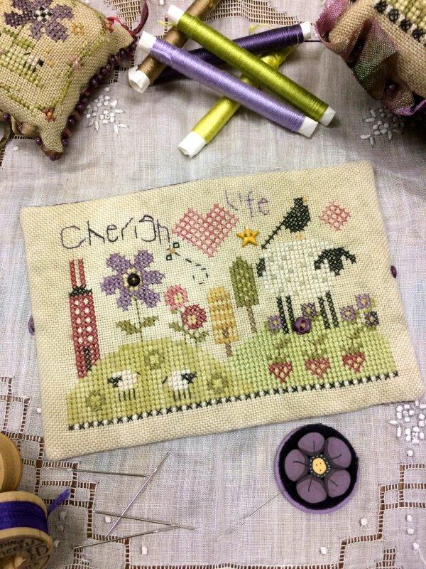 Shepherd's Bush - Shepherd's Fold - Part 4 - Cherish Life - Cross Stitch Kit