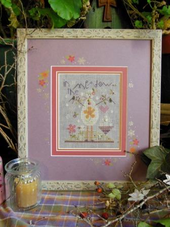 Shepherd's Bush - Wisteria Snowman - In the Meadow - Cross Stitch Kit