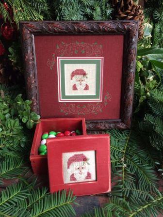 Shepherd's Bush - Santa Box Kit-Shepherds Bush - Santa Box, Christmas, Santa Claus, cross stitch