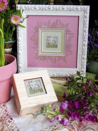 Shepherd's Bush - Spring Box - Cross Stitch Kit