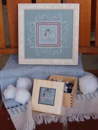Shepherd's Bush - Winter Box - Cross Stitch Kit