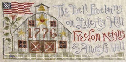 Silver Creek Samplers - Freedom Reigns-Silver Creek Samplers - Freedom Reigns , Nashville, USA, America, cross stitch