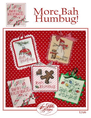Sue Hillis Designs - More Bah Humbug - Cross Stitch Patterns-Sue Hillis Designs,.  More Bah Humbug, Christmas, Christmas tree ornaments, Cross Stitch Patterns