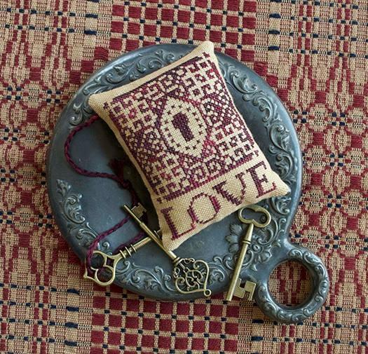 Summer House Stitche Workes - Love Is...  Cross Stitch Kit