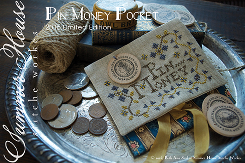 Summer House Stitche Workes - Pin Money Pocket - Limited Edition 2015 Nashville Market