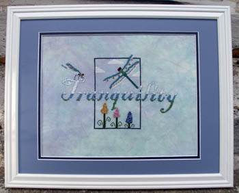 Ships Manor - Tranquility - Cross Stitch Pattern-Ship's Manor - Tranquility - Cross Stitch Pattern