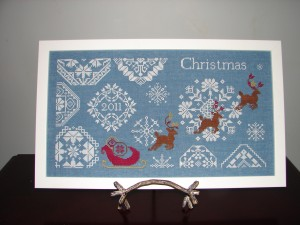 AuryTM - Snowy Christmas - Cross Stitch Pattern