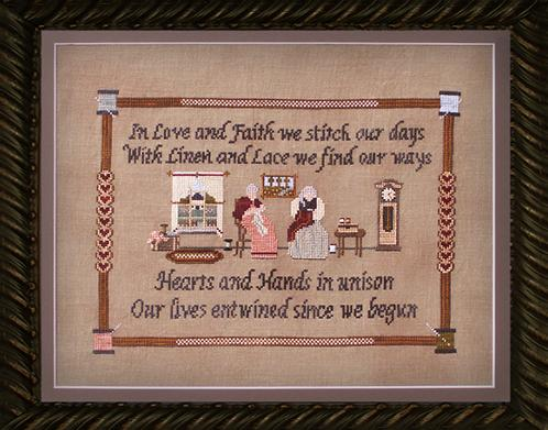 Ships Manor - Stitching Spinsters - Cross Stitch Pattern-Ships Manor - Stitching Spinsters - Cross Stitch Pattern