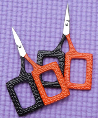 Kelmscott Designs - Spooks & Spells Lace Scissors-Kelmscott Designs, Spooks  Spells Scissors, Halloween, cross stitch, accessories,