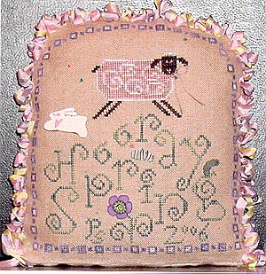 Praiseworthy Stitches - Hooray Spring - Cross Stitch Pattern-Praiseworthy Stitches - Hooray Spring - Cross Stitch Pattern