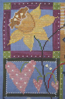 SamSarah Design Studio - In My Garden - Chapter 3 - Cross Stitch Pattern