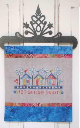 SamSarah Design Studio - 123 Stitcher Street-SamSarah Design Studio - 123 Stitcher Street, houses, homes of stitchers, cross stitch