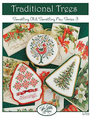Sue Hillis Designs - Traditional Trees Ornaments