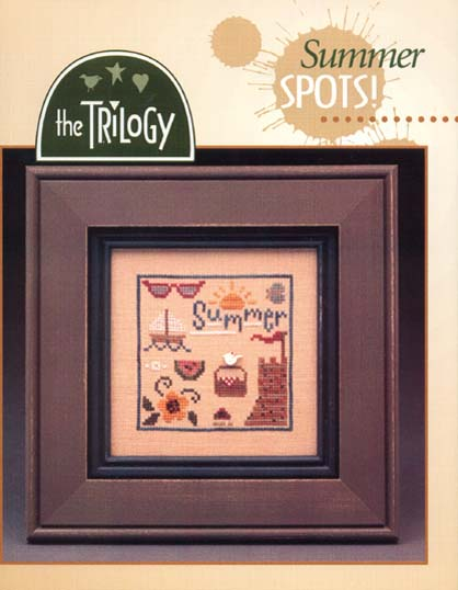 The Trilogy - Summer Spots - Cross Stitch Pattern