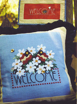SamSarah Design Studio - Summer Welcome Cross Stitch Pattern